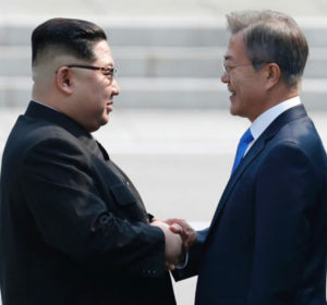 Peace declarations between the Korean nations now forever on blockchain