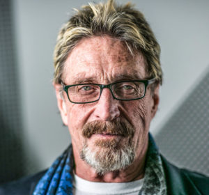 This is not a joke - McAfee will be launching his own cryptocurrency