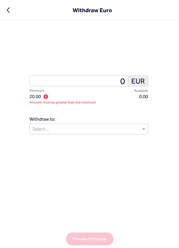 Withdraw Bitcoin in the UK