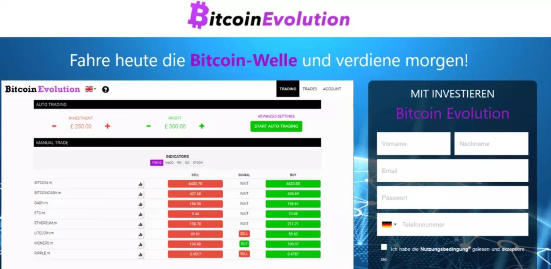 wie funktioniert bitcoin evolution