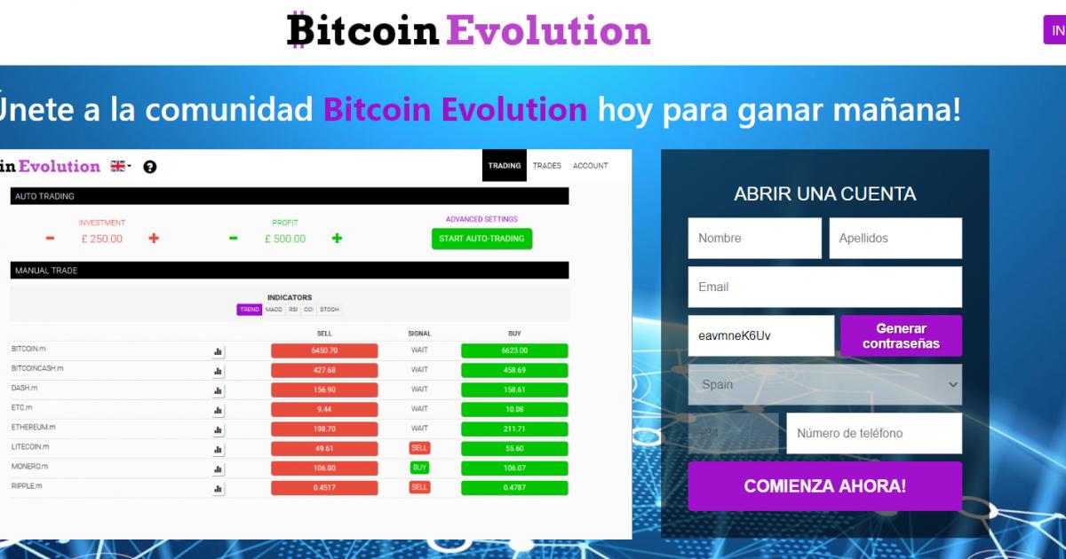 ¿Es Bitcoin Evolution una estafa? 🕵 Análisis y Opiniones 2021