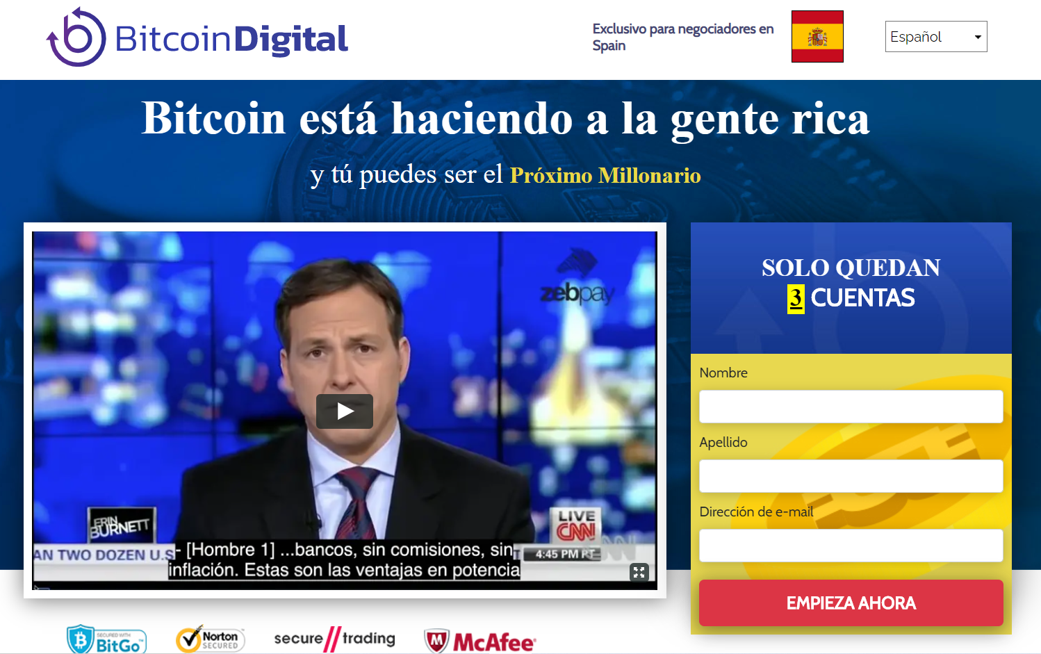 bitcoin digital realmente